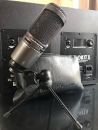 Audio tecnica Microfone at2020 USB +