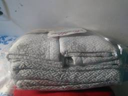 Colcha de cama de casal de matelassê