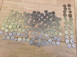 Vende se moedas antigas 100 reais