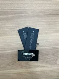 Bateria iphone 7 plus original trocada