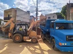 Terraplanagem, limpeza e demolição