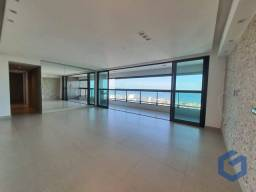 Vista definitiva para o mar,3 suítes +escritório,na praia do bessa/jardim oceania