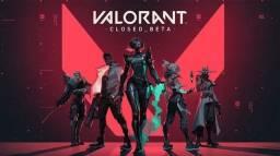 Vendendo conta de Valorant