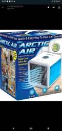 Mini ar condicionado/climatizador com purificador a base de água