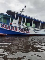 Barco de madeira 12 metros máquina 125 hp Mercedes