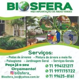 Prestação de serviços de jardinagem e paisagismo