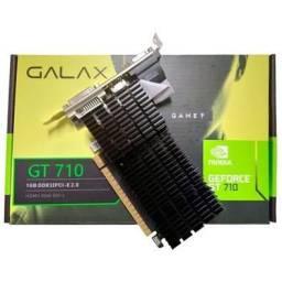 Placa De Vídeo Nvidia Geforce GT 710 1GB Galax GT710 - Loja Natan Abreu