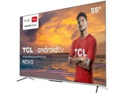 Smart TV 4K Uhd LED 55? TCL 55P715 Android Wi-Fi - Bluetooth 3 HDMI 2 USB