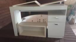 Móveis mesa, nicho mdf novo, prateleira.
