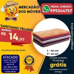 Título do anúncio: Tapetinho Veludo -Entrega Grátis