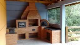 Tijolo artesanal - refratário - churrasqueira, forno de pizza, rústico,fogão a lenha
