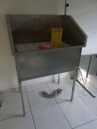 Banheira Veterinária