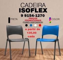 cadeira isoflex confira cores disponiveis a partir de 135,00
