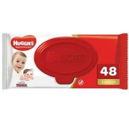 Lenço Umidecidos Huggies - 48 lenços em cada pacote