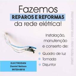 Eletricista Residencial/Comercial Orçamento sem compromisso