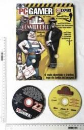 Raridade Anos 90 - CD Jogo e Revista CD Expert Nº 29 - PC Gamer - Com CD Jogo Constructor