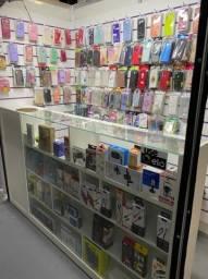 Produtos para loja de eletrônicos e acessórios para celular.