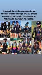 Macaquinhos femininos ciclismo MTb Speed  (Araguari)
