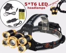 Lanterna Cabeça LED T6