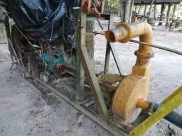 Draga 4 polegadas motor mercedes diesel 11/11