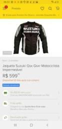Jaqueta impermeavel e proteção para quedas