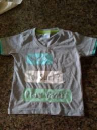 Título do anúncio: Camisetas infantil