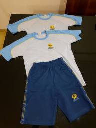 Kit Uniforme 14 anos masculino adventista