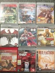 Jogos de PS3 apartir de 15 reais