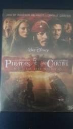 DVD Piratas do Caribe no Fim do Mundo