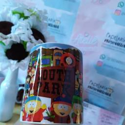 Caneca porcelana personalizada South Park