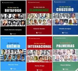 Coleção Os dez mais Futebol - Varios titulos