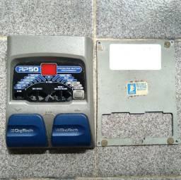 Placa de circuito pedaleira Digitech RP50