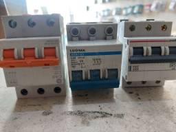 Disjuntor tricolor 40 amperes