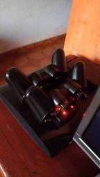 Estação carregamento para controles de PS3