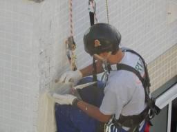 Manutenção em fachadas