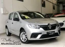 Título do anúncio: Renault Sandero LIFE FLEX 1.0 12V 5P MEC. FLEX MANUAL