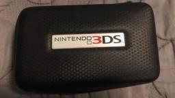 Case c/ fone e carregador para Nintendo DS