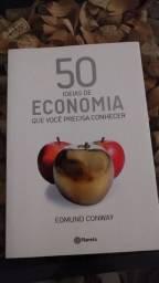 50 Ideias De Economia Que Você Precisa Conhecer | Edmund Conway | Usado