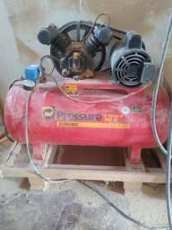 Compressor e serra meia esquadria