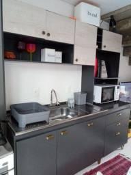 Linda cozinha estilo industrial