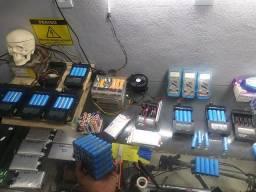 Consertamos baterias de lítio Todas 24v 36v 42v 48v 60v