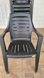 Cadeira poltrona evidence plástico reforçada moderna