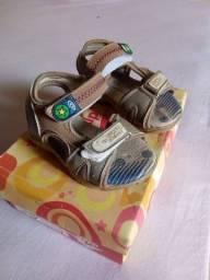 Sapato e Alpercata infantil