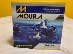 Vendo bateria motocicleta quadriciclos moura 12ah MA12-E