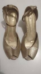 Sandália Dourada n°36