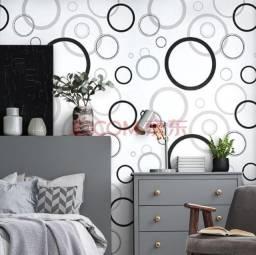 Papel de parede para quarto, sala, banheiro