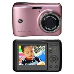Câmera Digital GE C1233 Rosa 12.1 MP, LCD 2.4, Zoom Óptico 3x