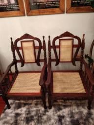 Cadeiras de palhinha índia