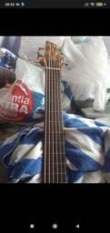 Contra baixo 6 cordas Luthier obs: Faço Entrega!