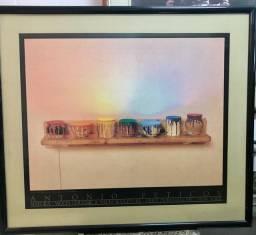 NATURA do pintor Antônio Peticov (moldura com vidro)
